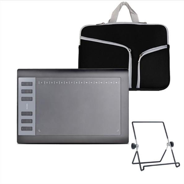Tablette graphique Huion 1060 Pro+ / Sac de Transport / Support Stander