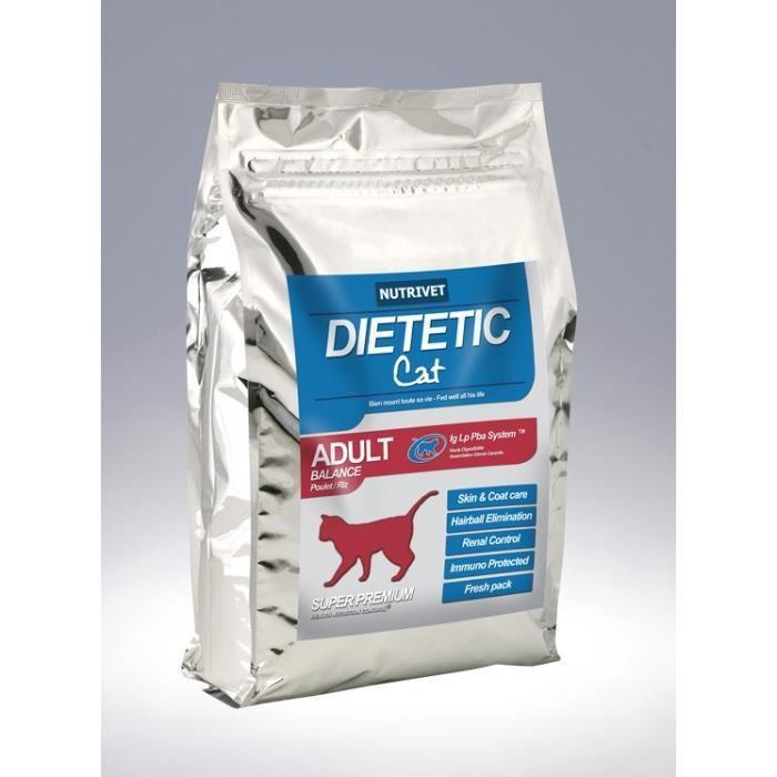 [Cdiscount à Volonté] Croquettes chat Nutrivet stérilisé balance 3,5 KG 0% blé