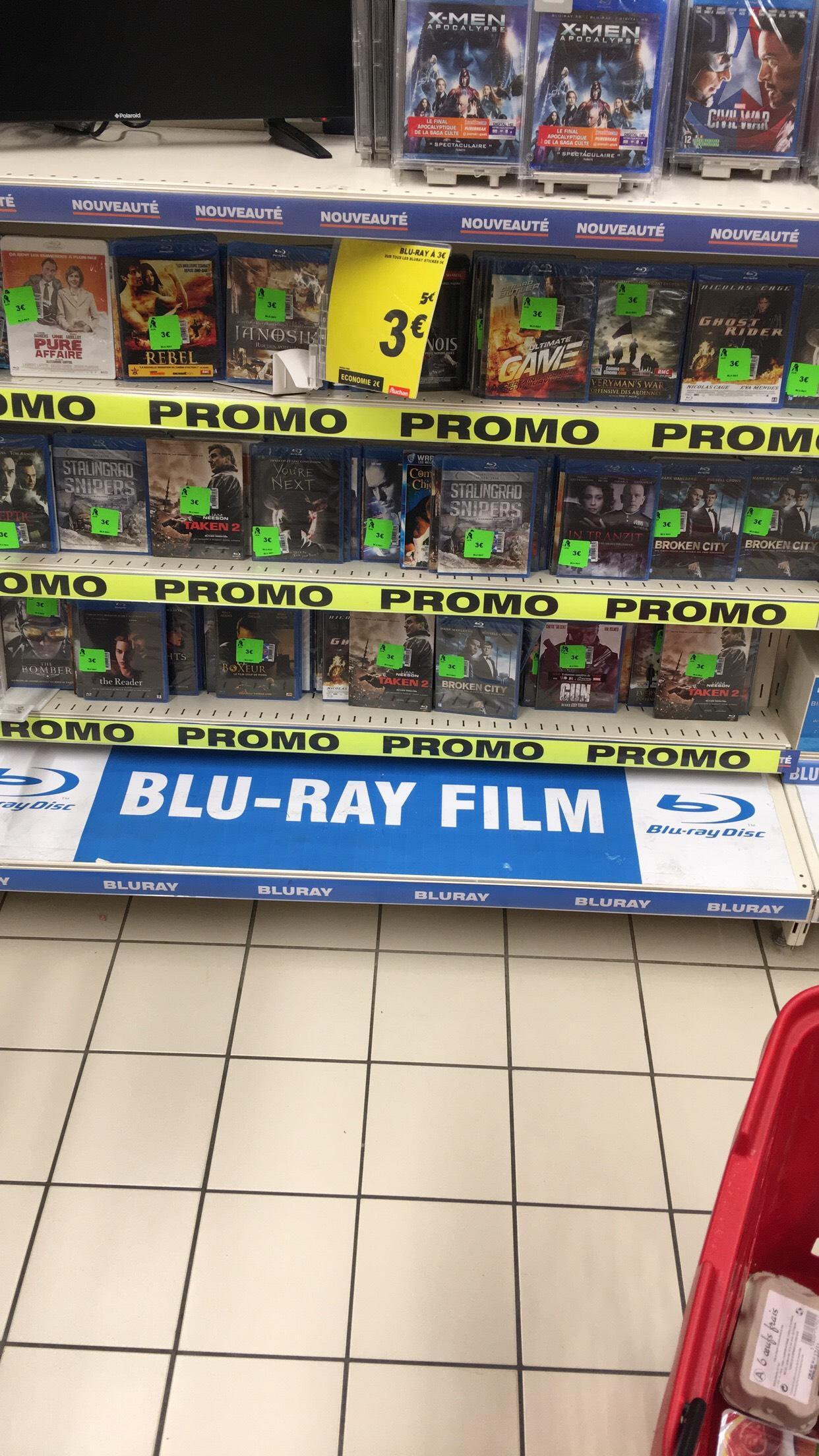 Sélection de Films Blu-ray en promotion - Ex : Blu-ray Taken 2