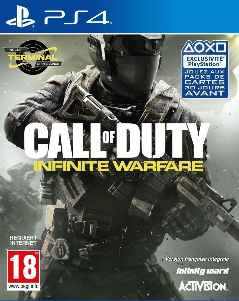 Call of Duty Infinite Warfare sur PS4 (via mobile uniquement)