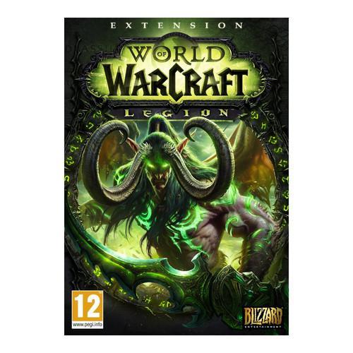 Extension World of Warcraft Legion sur PC