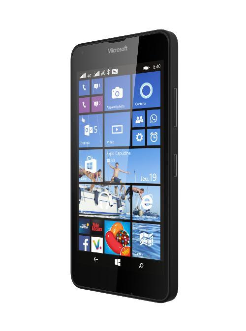 "Smartphone 5"" Microsoft Lumia 640 - Double Sim, 8Go, Noir"