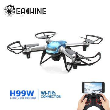 Drone Quadcoptère Eachine H99W - WiFi, Caméra 2MP 720p et 6 axes