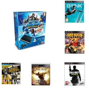 Pack PS3 12 Go All Stars Battle Royal + 5 jeux offerts / Autres Pack dispos