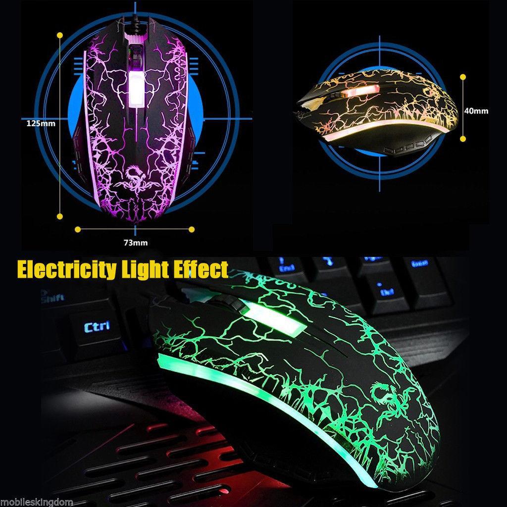 Souris filaire LED - 2400 dpi