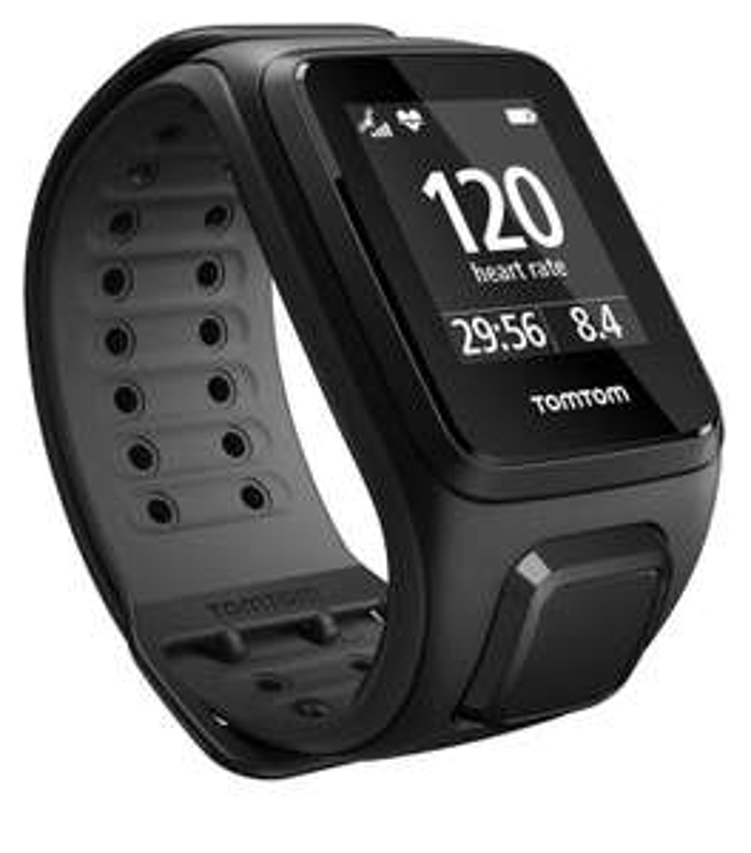 Montre GPS TomTom Runner 2 Cardio Noir - Reconditionné