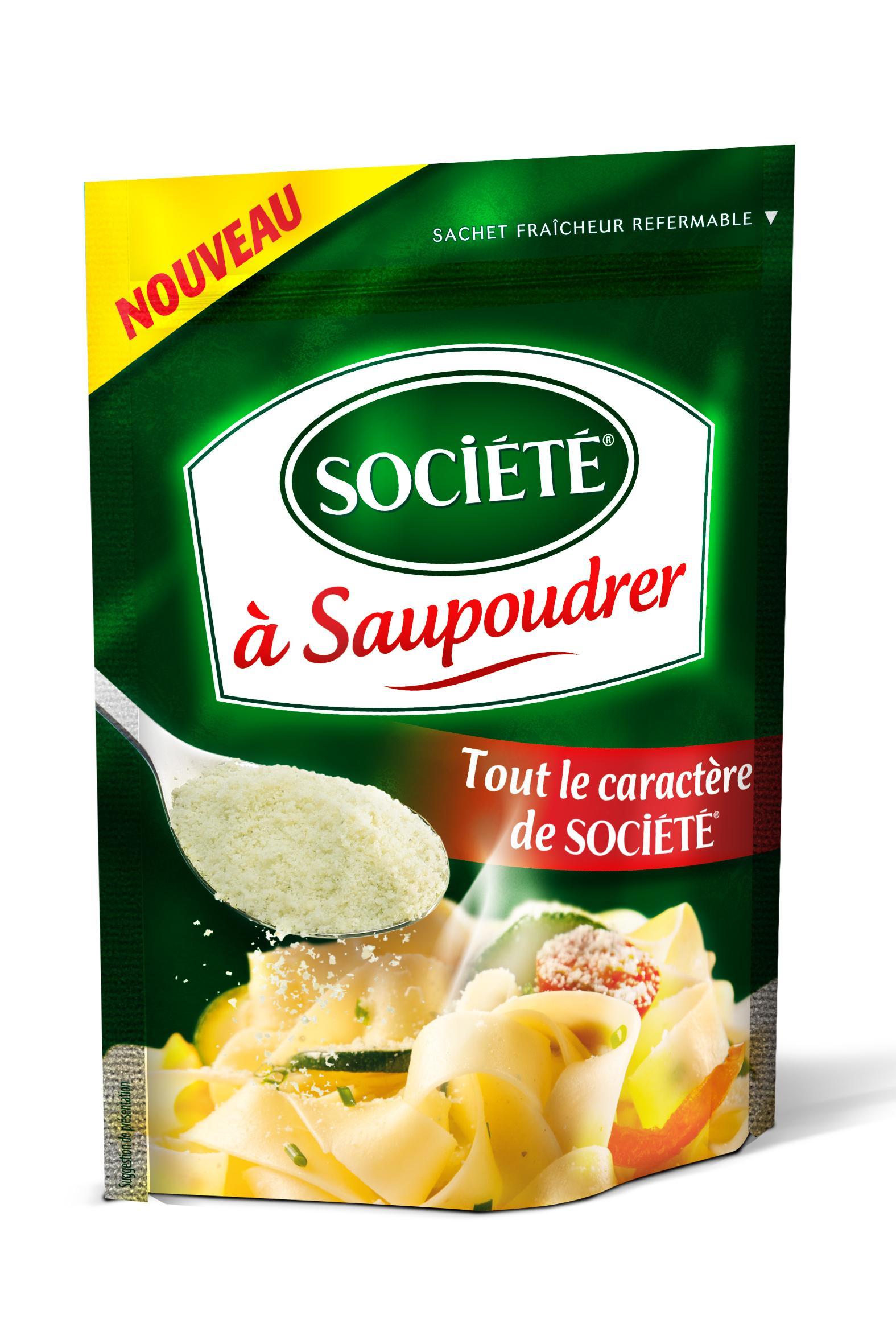 Selection de produit épicerie en promotion - Ex:  Fromage Société à saupoudrer (via BDR de 0.9€)
