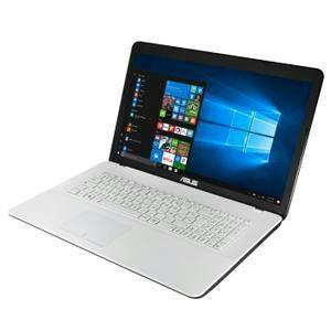 """PC Portable 17.3"""" Asus F751LAV-TY596T Blanc - 1600x900, i3 4010U, RAM 4Go, 1To, Windows à 10"""
