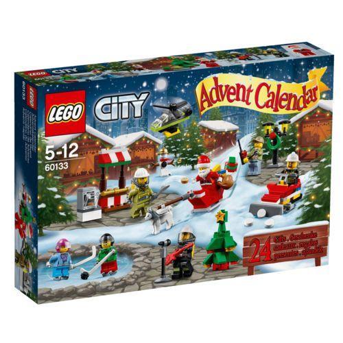20% de réduction sur une sélection de calendriers de l'avent Lego ou Playmobil - Ex: Lego City 60133