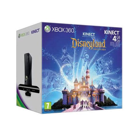 Console Xbox 360 4 Go + Capteur Kinect + Disneyland Adventures