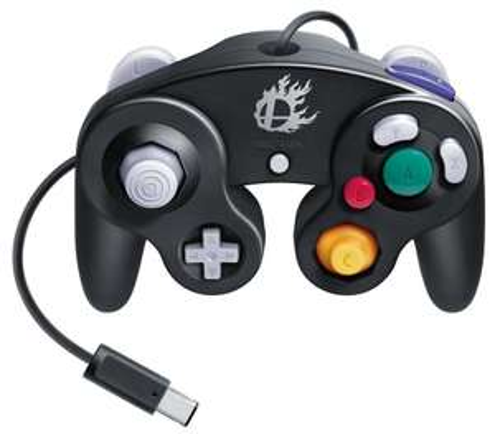 Manette Nintendo GameCube - édition Super Smash Bros.