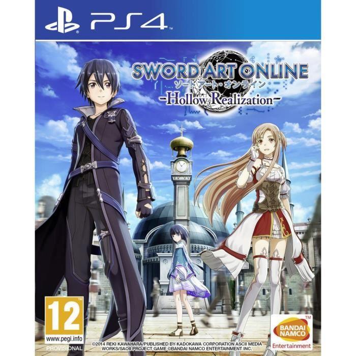 Précommande: Sword Art Online: Hollow Realization sur PS4