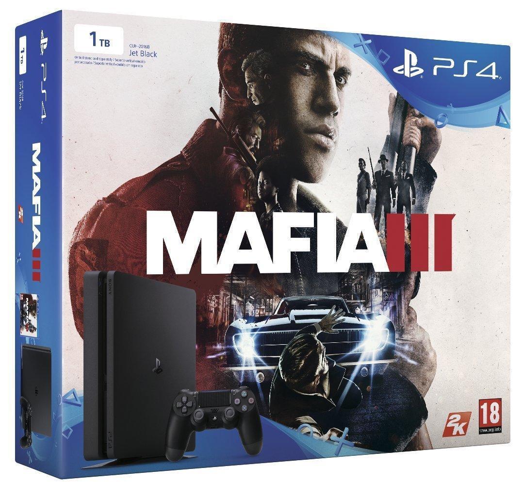 Console PS4 Slim (1 To) + Mafia III