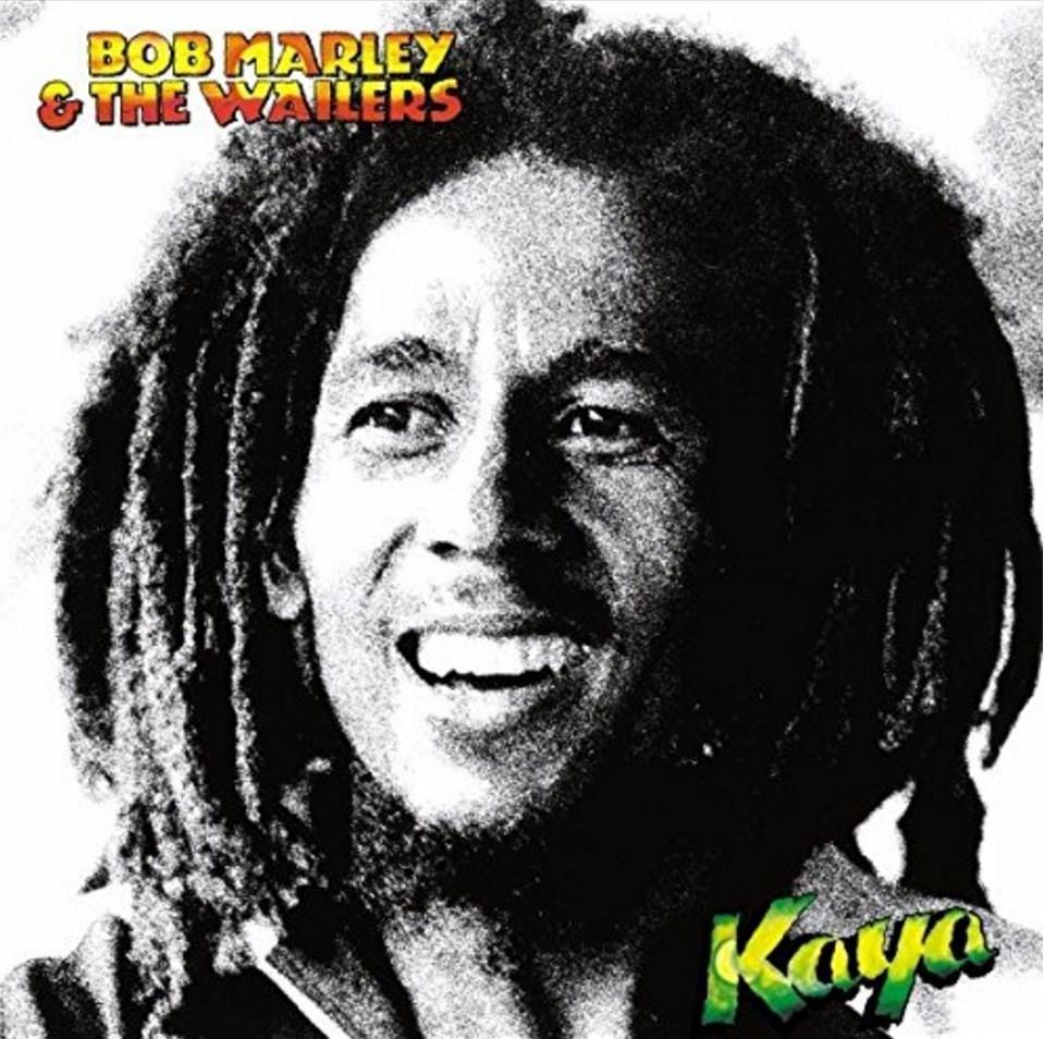 Album vinyle de Bob Marley. Kaya