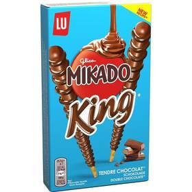 Lot de 4 paquets Mikado King tendre chocolat (via Shopmium)