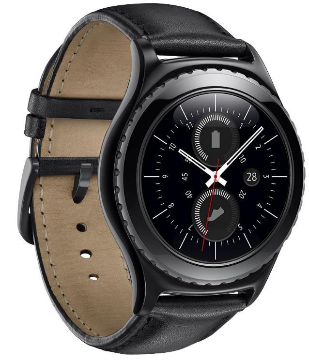 Montre connectée Samsung Gear S2 Classic - Noir