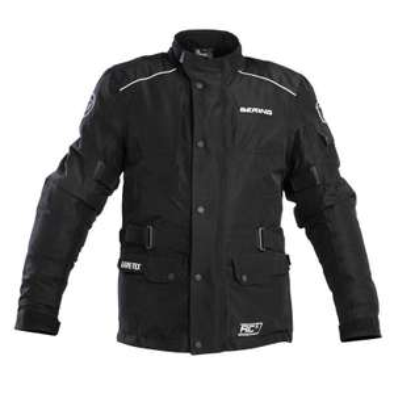 Veste de moto Bering Roy Goretex - blanc ou noir (du S au XXXL)