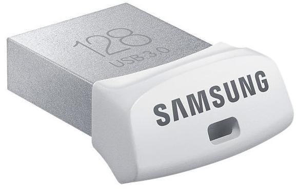 Clé USB 3.0 Samsung Fit (jusqu'à 130 Mo/s) - 128 Go