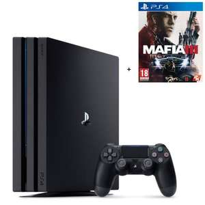 Pack console Sony PS4 Pro (1 To) + Mafia III