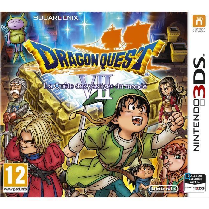 [Cdiscount à volonté] Jeu Dragon Quest VII : La Quête des vestiges du monde sur 3DS