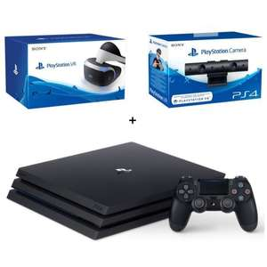 Console Sony PS4 Pro + Casque PlayStation VR + PlayStation Caméra