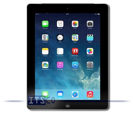 "Tablette 9.7"" Apple iPad 4 Cellular Retina - WiFi, 4G, 32 Go - Occasion"