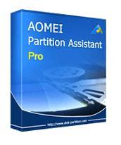 Logiciel AOMEI Partition Assistant Pro Edition gratuit