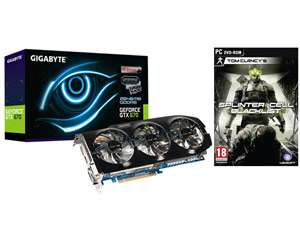 Carte Graphique Gigabyte GTX 670 (GV-N670OC-2GD) - WindForce 3 - 2048Mo + Splinter Cell Blacklist Via Buyster