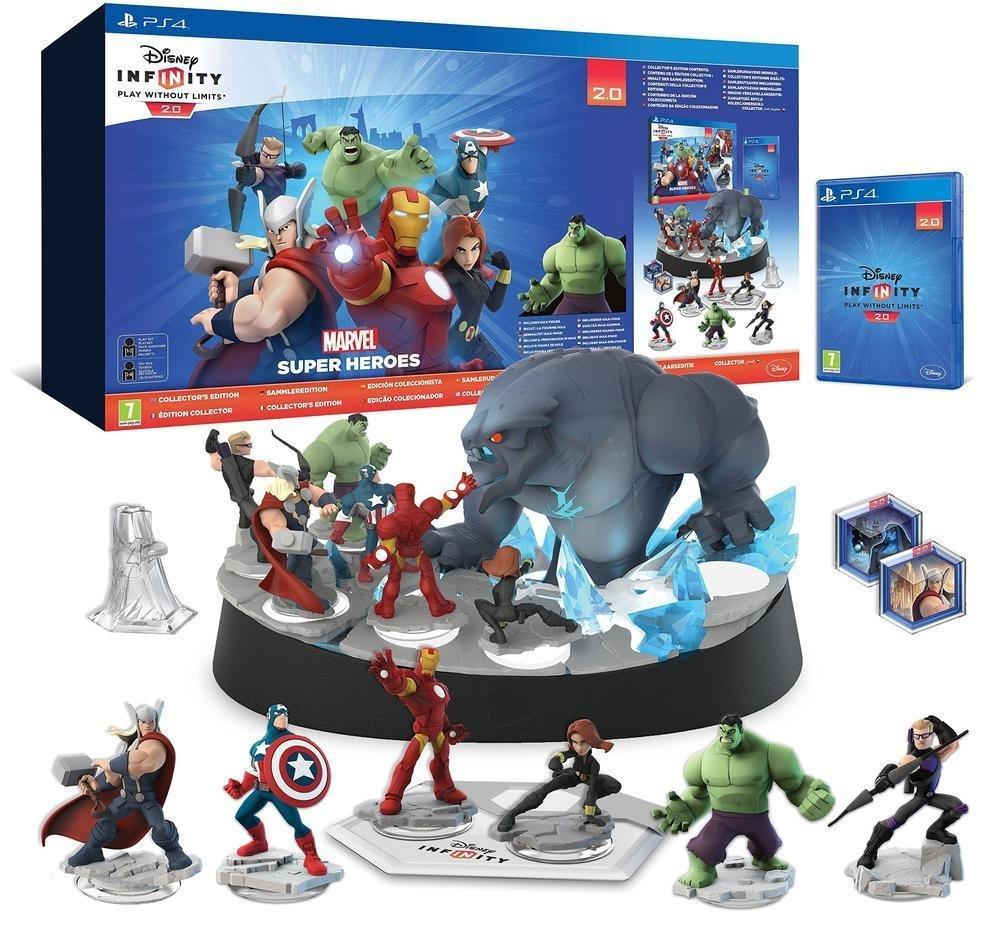 Pack de démarrage Disney Infinity 2.0: Marvel Super Heroes - Édition Collector