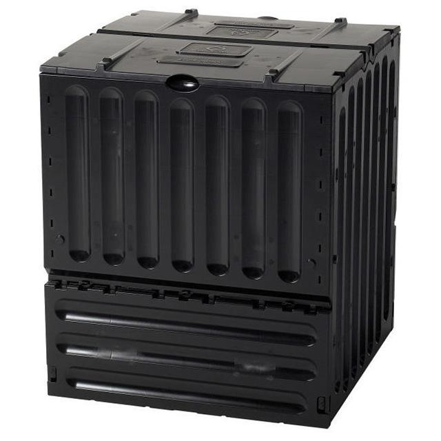 Composteur Eco King 600L - Noir