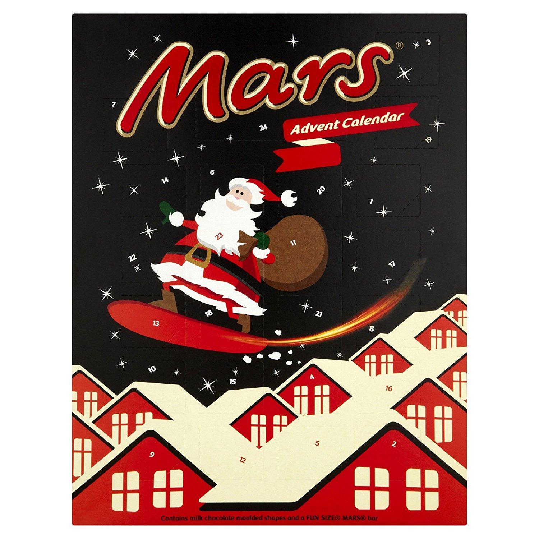 Lot de 11 calendriers de l'Avent Mars - 111 g