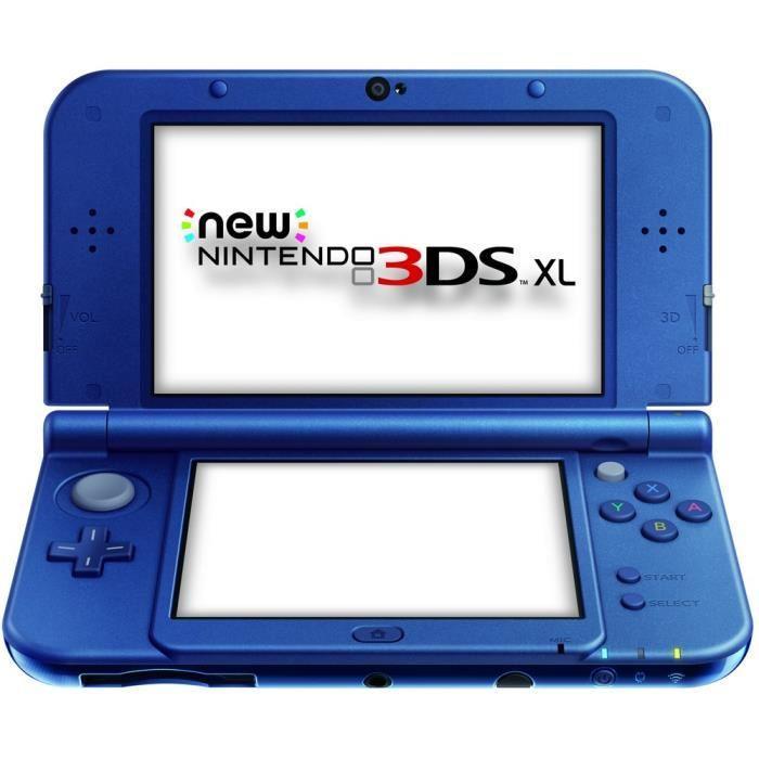 Console Nintendo New 3DS XL (via 20€ sur la carte) - Bleue ou grise