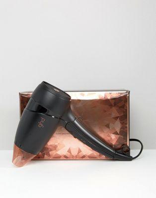 Sac et sèche-cheveux de voyage ghd - Flight Copper Luxe