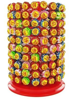 Manèges et pots à sucettes Chupas chups, 200 sucettes