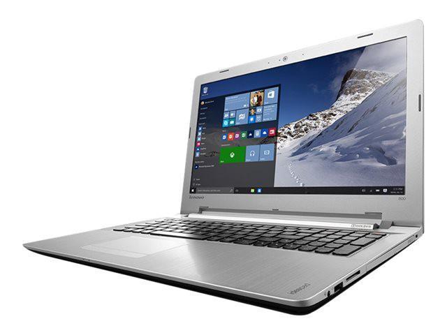 """PC portable 15,6"""" Lenovo IdealPad 500-15ISK3D (i5-6200U, 8 Go de RAM, 2 To, Windows10)"""