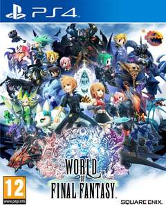 World of Final Fantasy sur PS4