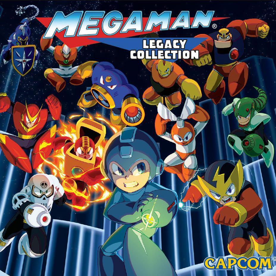 Megaman Legacy Collection sur PC + Lethal brutal Racing (Dématérialisés - Steam)