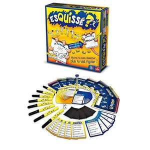 1 jeu de société Esquissé ? (version 6 ou 8 joueurs) acheté = 1 offert (via ODR) - Ex : Lot de 2 jeux (version 6 joueurs)