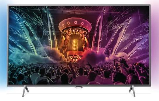 """[Cdiscount à volonté] TV 55"""" Philips 55PUS6401 - Ambilight, LED, 4K, Smart TV"""