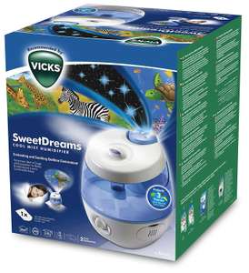 Humidificateur avec Projecteur d'Image VICKS Sweetdreams