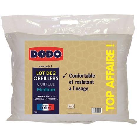 Lot de 2 Oreillers Dodo Quietude en Coton - 50 x 70cm