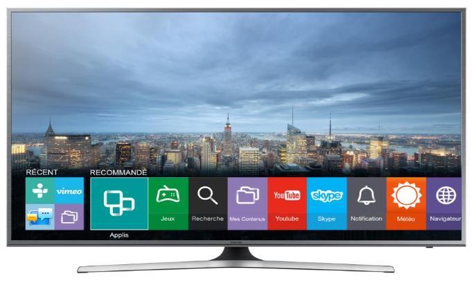 "TV LED 55"" Samsung UE55JU6800U - UHD 4K, Smart TV"