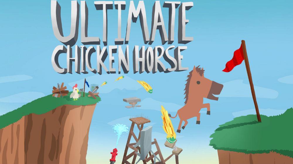 Jeu Ultimate Chicken Horse sur PC (Dématérialisé)