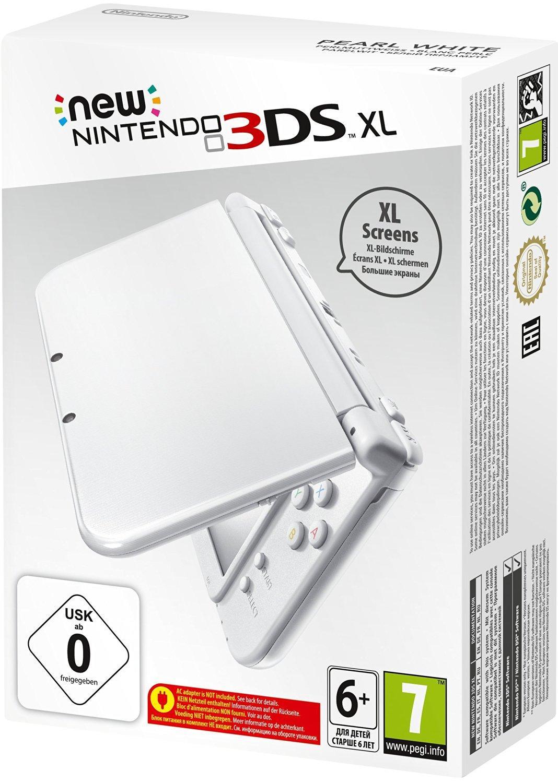 Console Nintendo New 3DS XL - Blanc perle