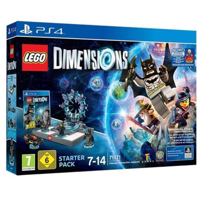 Sélection de sets Lego Dimensions en promo - Ex : Pack de démarrage Supergirl Lego Dimensions sur PS4 (avec  15€ sur la carte)