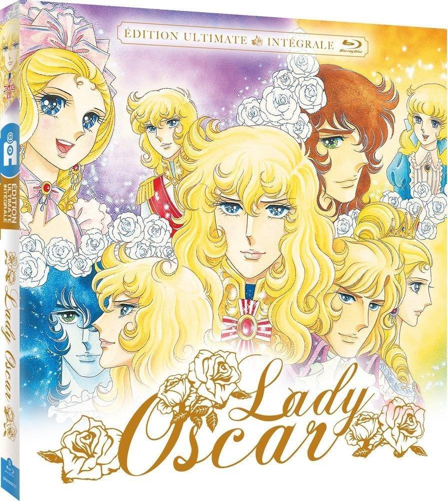 Coffret blu-ray Lady Oscar - Edition Ultimate intégrale