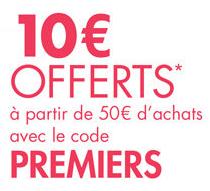 10€ de réduction sur les fournitures scolaires à partir de 50€ d'achat