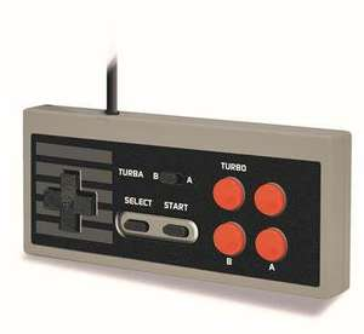 Manette Steelplay compatible Nintendo Classic Mini NES + Cheat Code Book