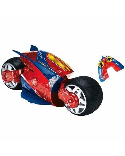 Moto téléguidée Majorette - Amazing Spider-Man (Longueur 28cm)