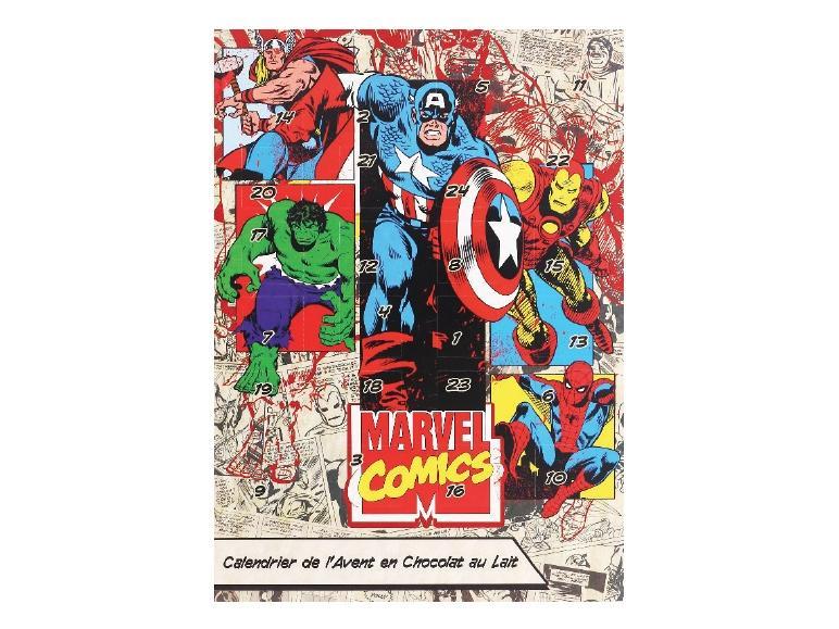 Sélection de Calendriers de l'Avent au Chocolat au Lait - Ex: Marvel Comics ou Chica Vampiro